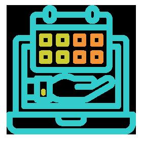 プロジェクト管理システムのアイコン